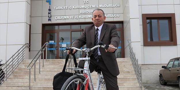 Bu bisiklet 'Resmi Hizmete Mahsustur'