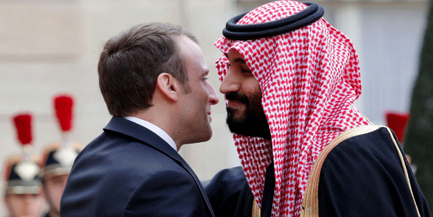 Bu kadarı da fazla... Suudi Arabistan'dan İslam düşmanı Macron'a destek!