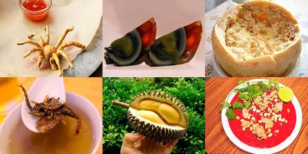 Bu yemeklerin görüntüsü bile mide bulandırıcı!