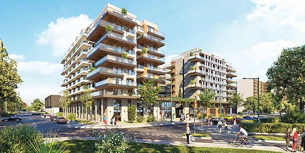 Budapeşte'ye 60 milyon euroluk konut yatırımı