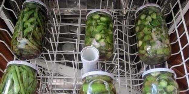 Bulaşık makinesinde turşu nasıl yapılır? Dakikalar içinde hazır!