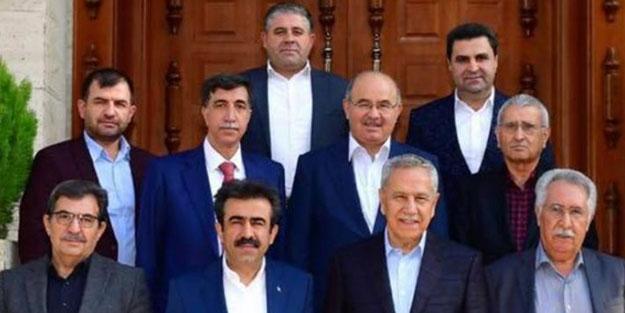 Bülent Arınç'tan Diyarbakır'da dikkat çeken toplantı! Bir araya geldiler