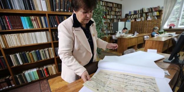 Bulgaristan'daki Osmanlı arşivi görüntülendi