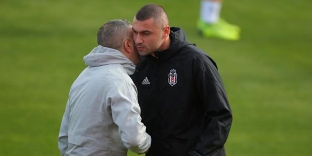 Burak Yılmaz Beşiktaş'ta ilk antrenmanına çıktı!