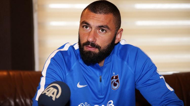 Burak Yılmaz'dan Trabzonsporlu yöneticiye zehir zemberek sözler