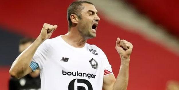 Burak Yılmaz'ın asisti Lille'ye beraberliği getirdi