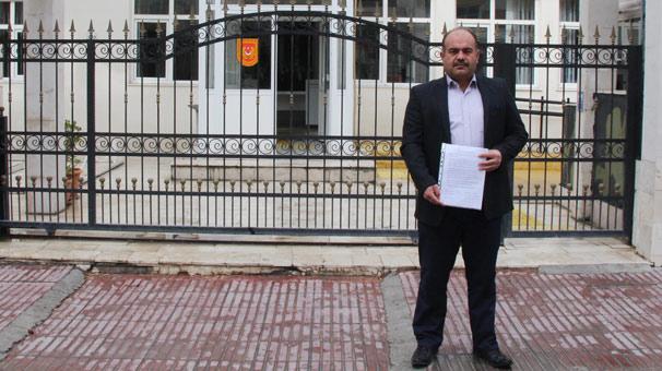 Burdur'da din görevlisi Afrin'e gitmek için dilekçe verdi