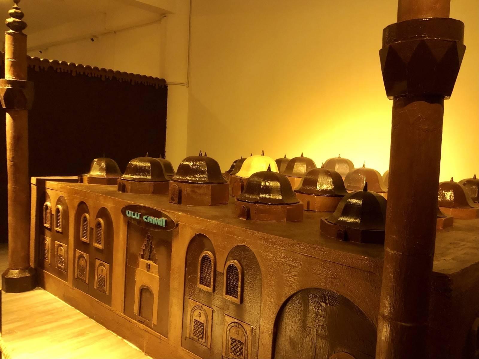 Bursa 'çikolata müzesi' ile tatlı