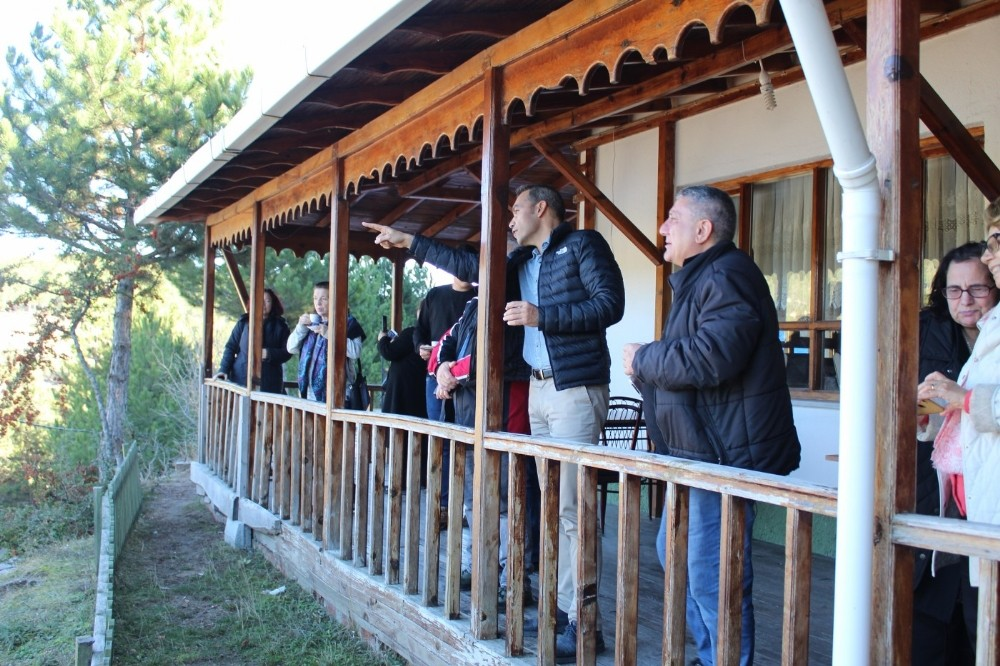 Bursa Kültürel Tanıtım Derneği üyeleri Emet'i ziyaret etti