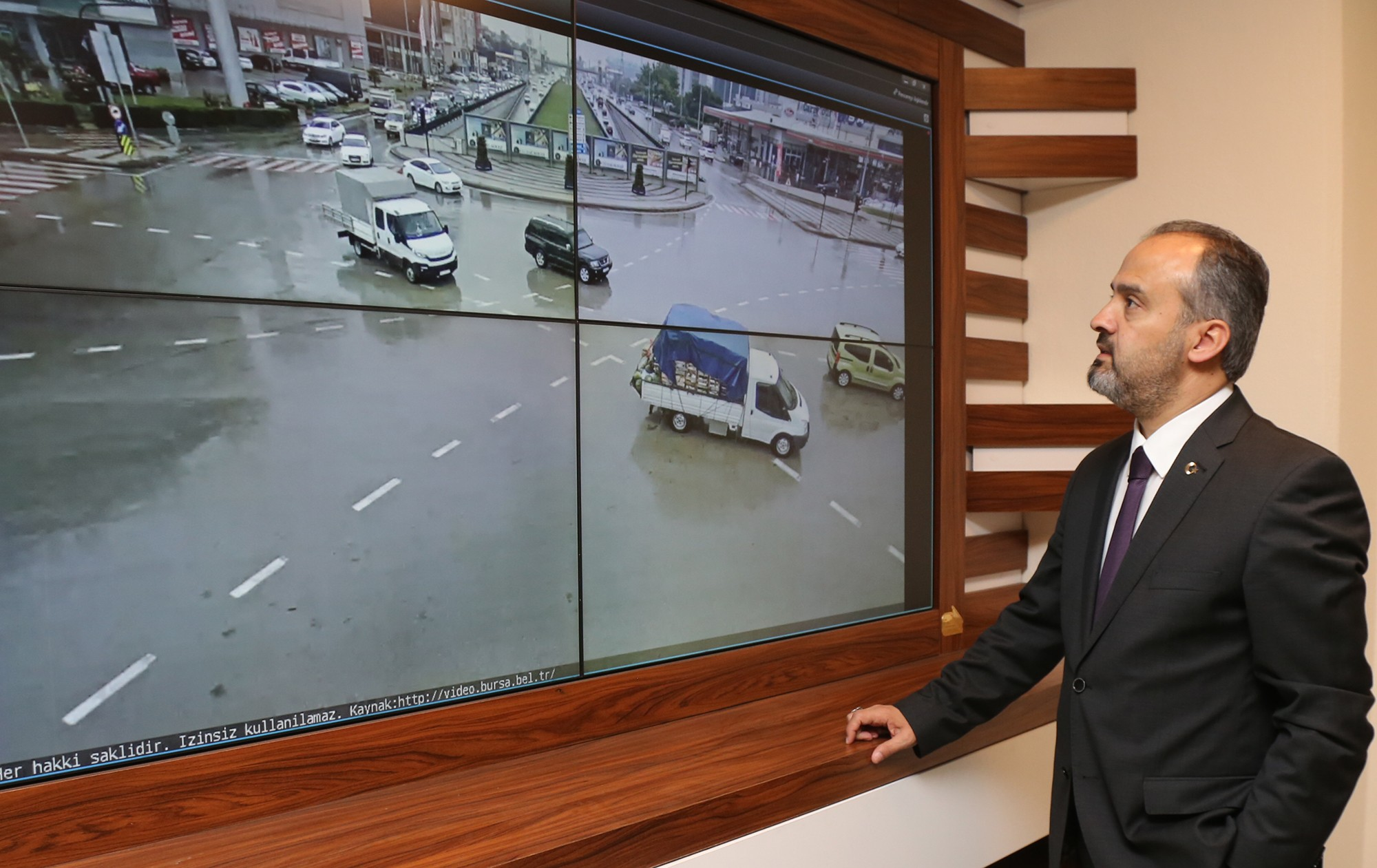 Bursa trafikte vites büyüttü