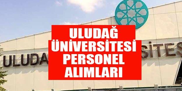 Bursa Uludağ Üniversitesi araştırma görevlisi alımı 2019