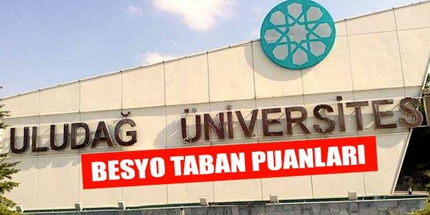Bursa Uludağ Üniversitesi besyo taban puanları 2019