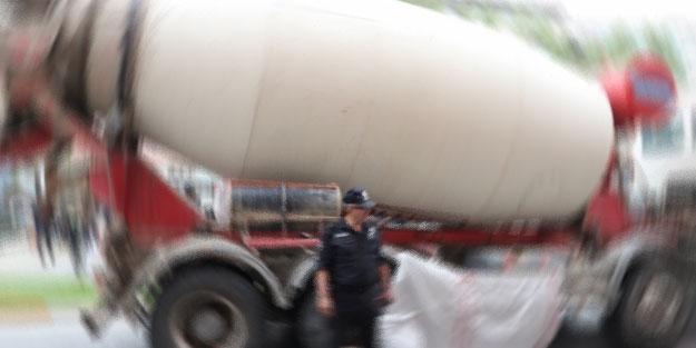 Bursa'da beton mikserinin çarptığı kişi öldü