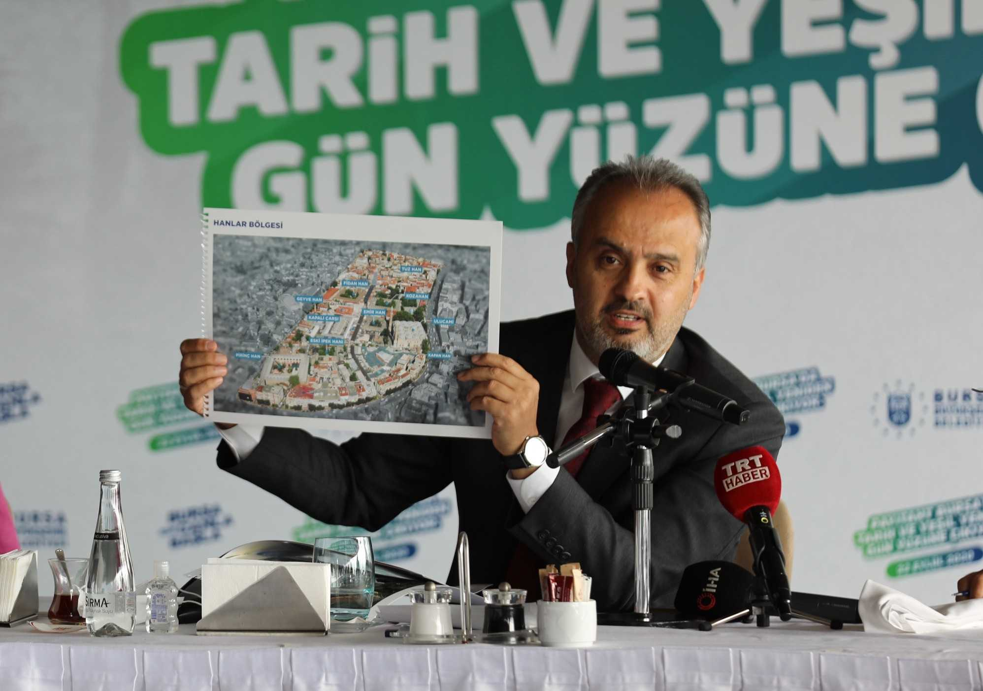 Bursa'da tarihi dönüşüm başladı!