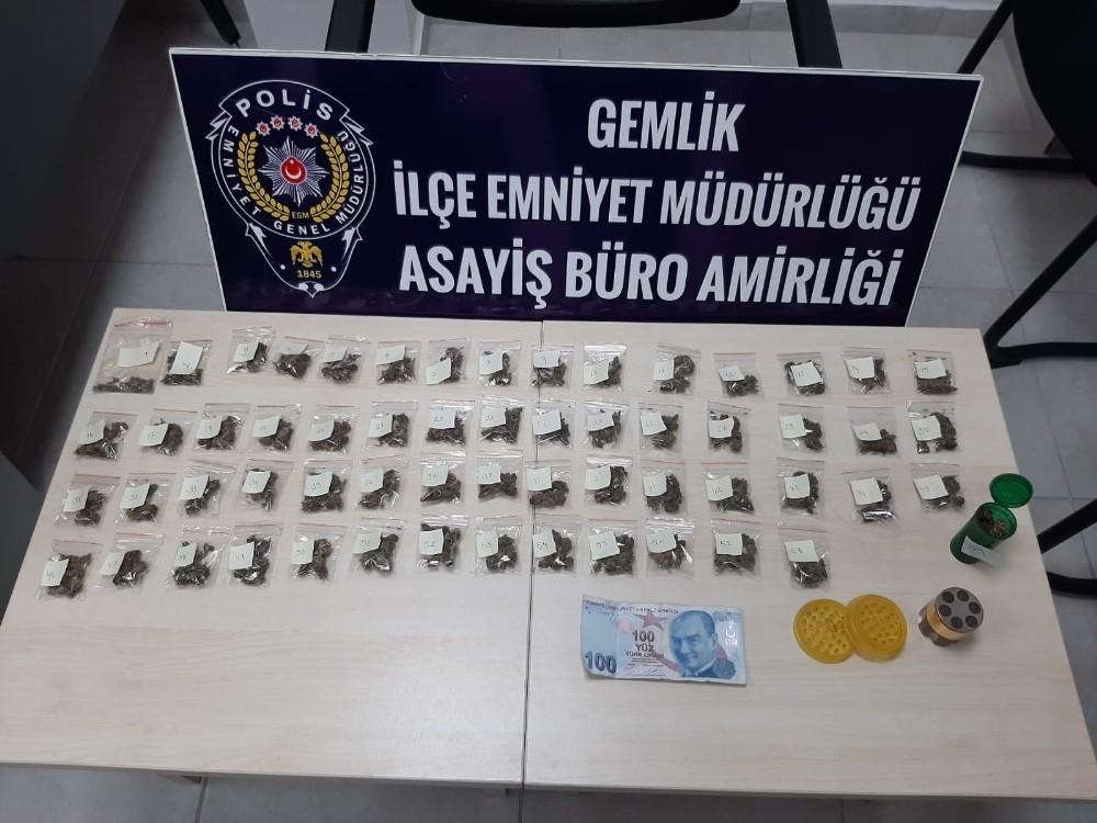 Bursa'da uyuşturucu satıcılarına şok operasyon