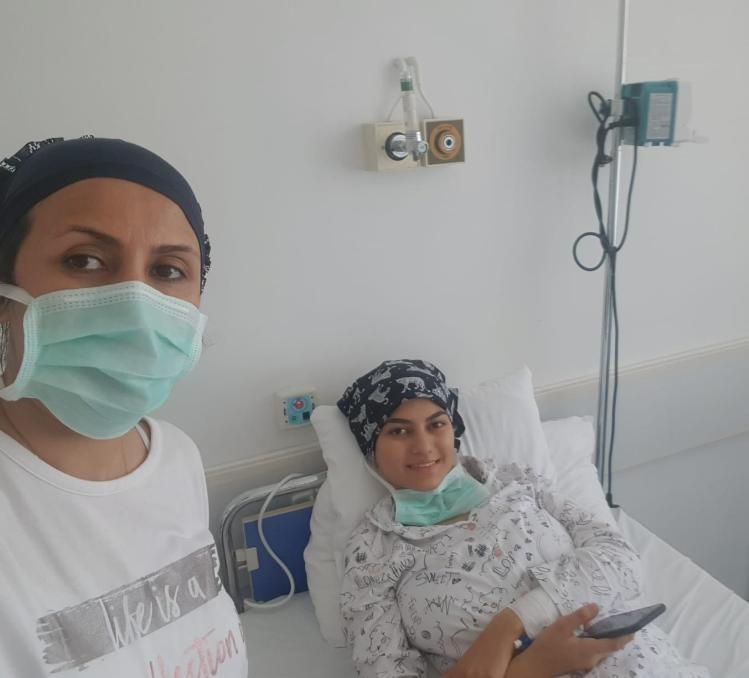 Bursalı Elif Azra Bulut'a kendi kök hücresi nakledildi
