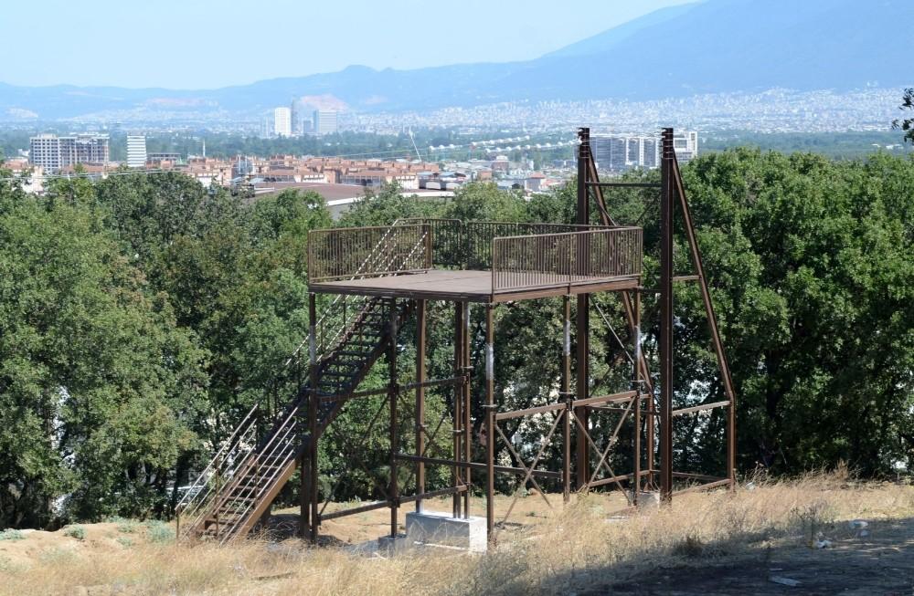 Bursa'nın Macera Parkı hızla yükseliyor