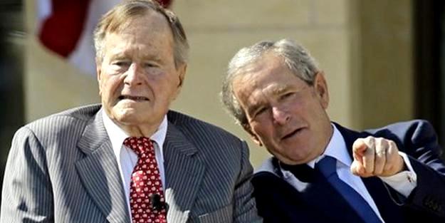 Bush hastaneye kaldırıldı
