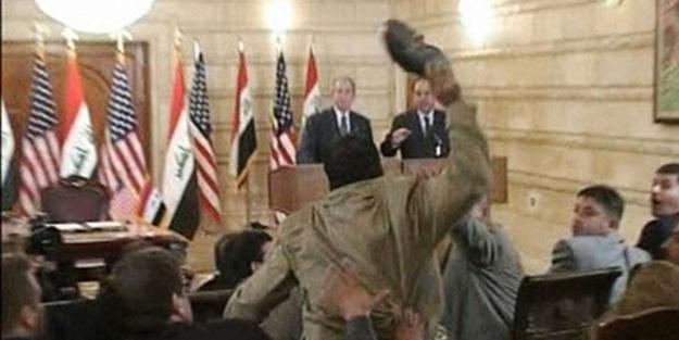 Bush'a ayakkabı fırlatan gazeteci milletvekili adayı oldu