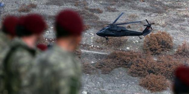 Büyük operasyon başladı… Bordo bereliler o bölgeye indi!