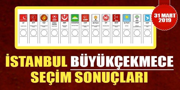 Büyükçekmece yerel seçim sonuçları son dakika | İstanbul Büyükçekmece AK Parti, CHP oy oranları