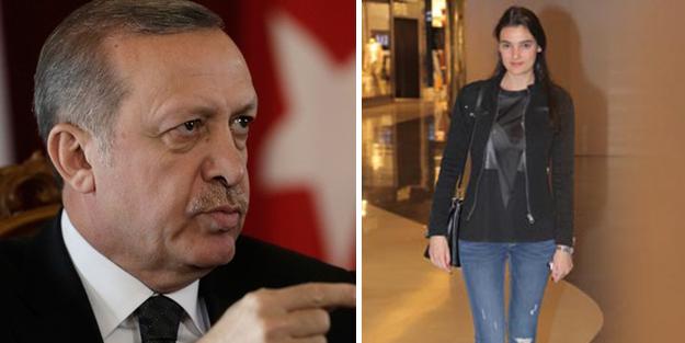 Merve Büyüksaraç'a Erdoğan'a hakaretten ceza!