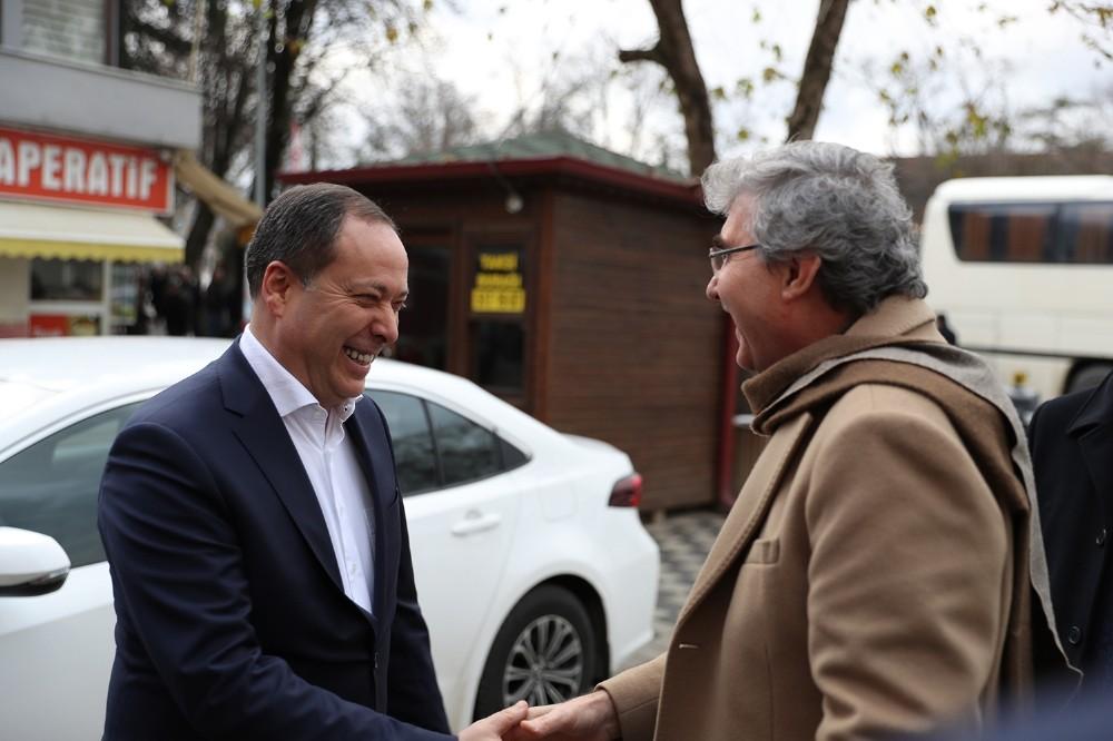 Büyükşehir, SASKİ, BELPAŞ ve Geyve Belediyesi bürokratları bir araya geldi