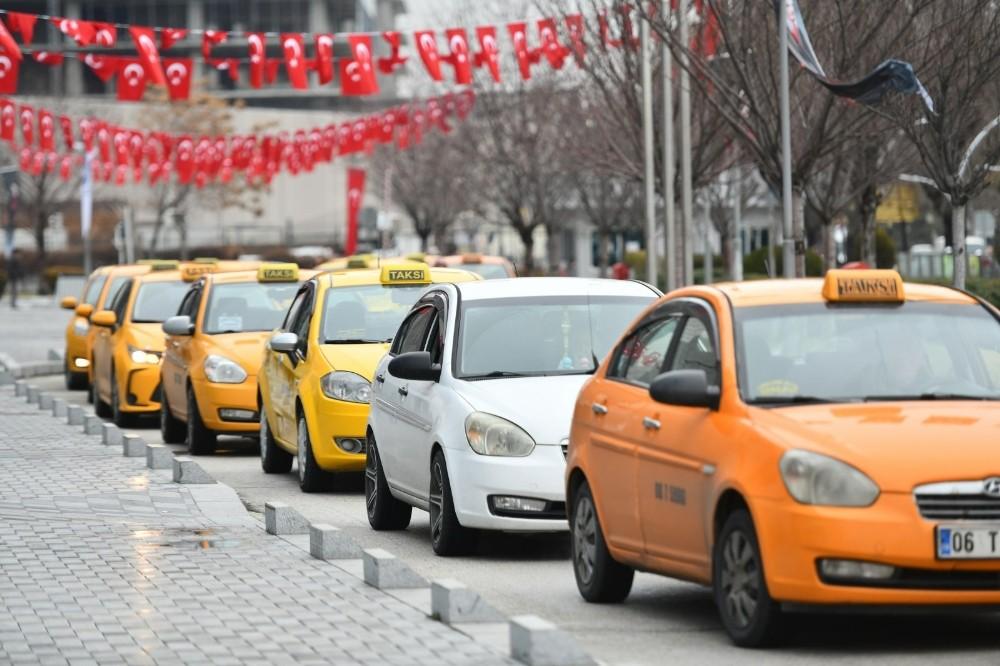 Büyükşehir'den taksici esnafına anket