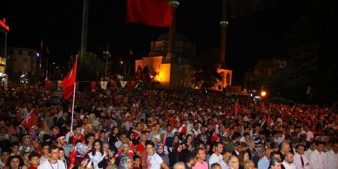 Çerkezköy'de 15 Temmuz ruhu yaşatıldı