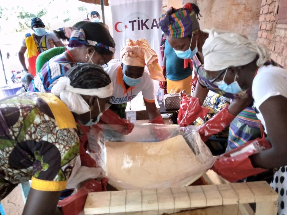 Çad'da Engellilere TİKA Desteği