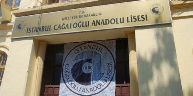 Cağaloğlu Anadolu Lisesi taban puan 2019