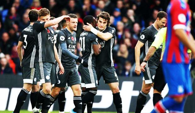 Çağlar ilk golünü attı Leicester kazandı!