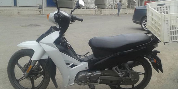 Çaldığı motosikleti geri getirdi!