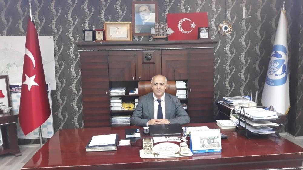 Çaldıran Belediye Başkanı Ensari'den İdlib mesajı
