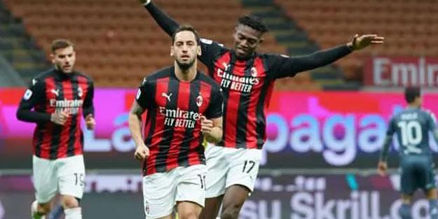Çalhanoğlu attı Milan zafer kazandı