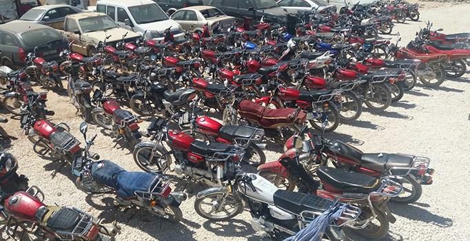 Çalıntı 166 motosiklet ele geçti: 64 kişi gözaltında