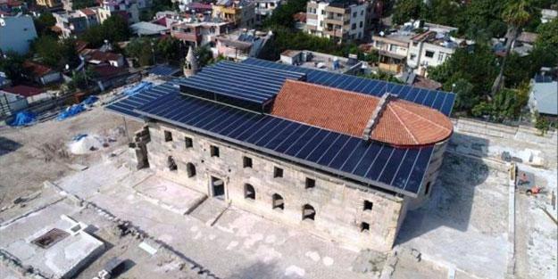 Cami olarak kullanılan bin 800 yıllık yapının restorasyonu isyan ettirdi!