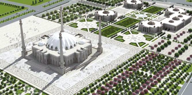 İnguşetya'ya Avrupa'nın en büyük camisi
