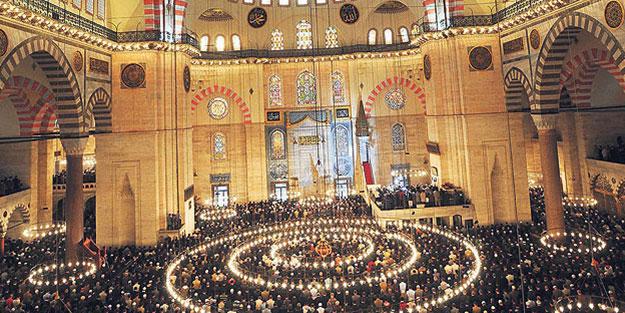 Camiler kimliğimizdir, şehirlerin tapularıdır