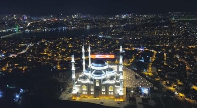 Çamlıca Camii ibadete açılıyor