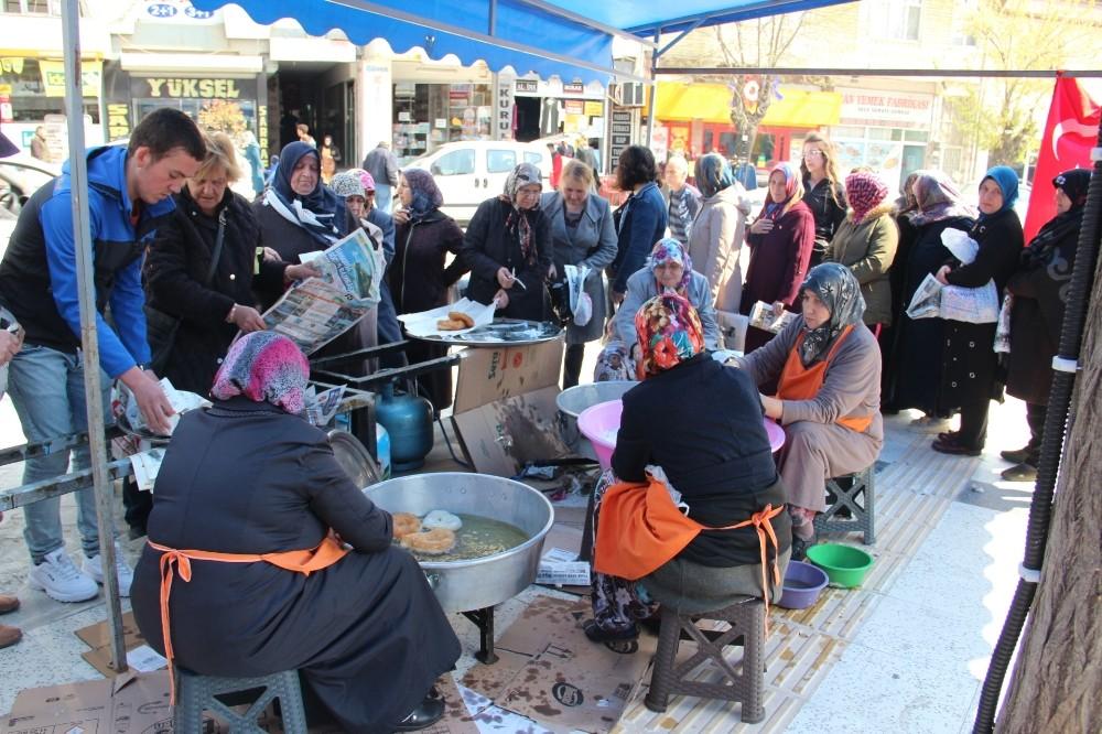 Çan Belediyesi'nden Miraç Kandilinde gödek ikramı