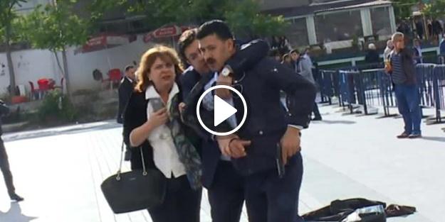 Silahlı saldırganın üzerine atılan Can Dündar'ın eşi olay anını anlattı!
