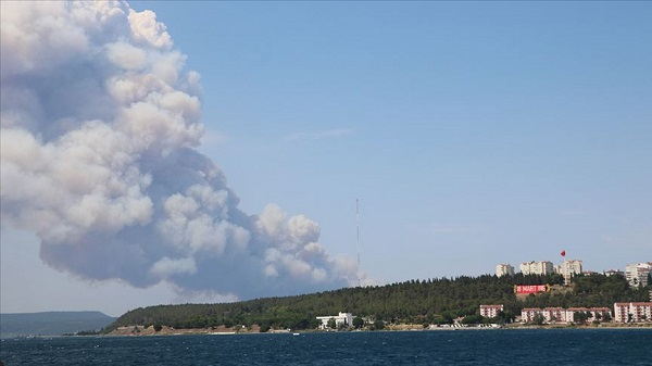 Çanakkale orman yangını kontrol edildi mi?