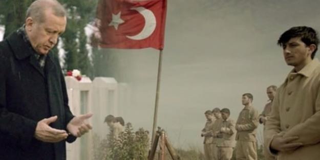 Erdoğan hem okudu, hem oynadı
