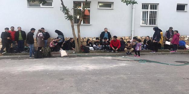 Çanakkale'de çok sayıda göçmen yakalandı!