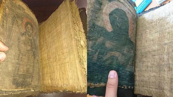 Çanakkale'de el yazması İncil'i satamadan yakalandılar