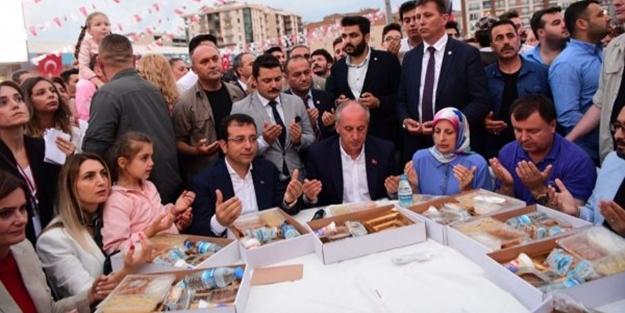 Canan Kaftancıoğlu, Muharrem İnce ile iftar sofrasında