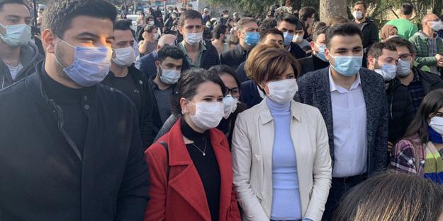 Canan Kaftancıoğlu yine ön saflarda! CHP, Boğaziçi Üniversitesi'nde düzenlenen eylemleri kışkırtıyor