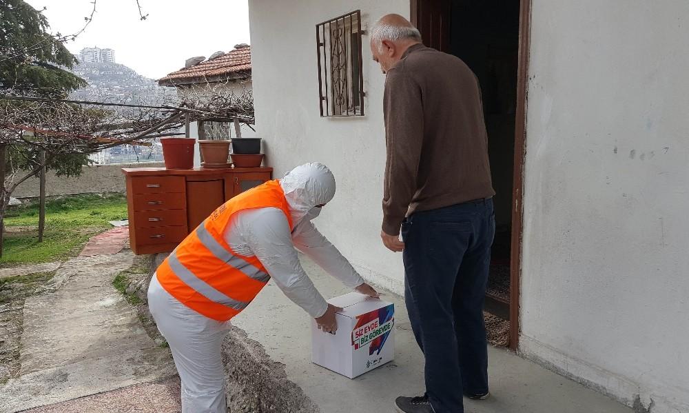 Çankaya'dan 2 bin haneye gıda ve temizlik malzemesi desteği