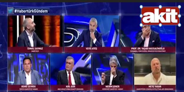 Canlı yayında Hacısalihoğlu ve Saymaz arasında Ayasofya tartışması çıktı